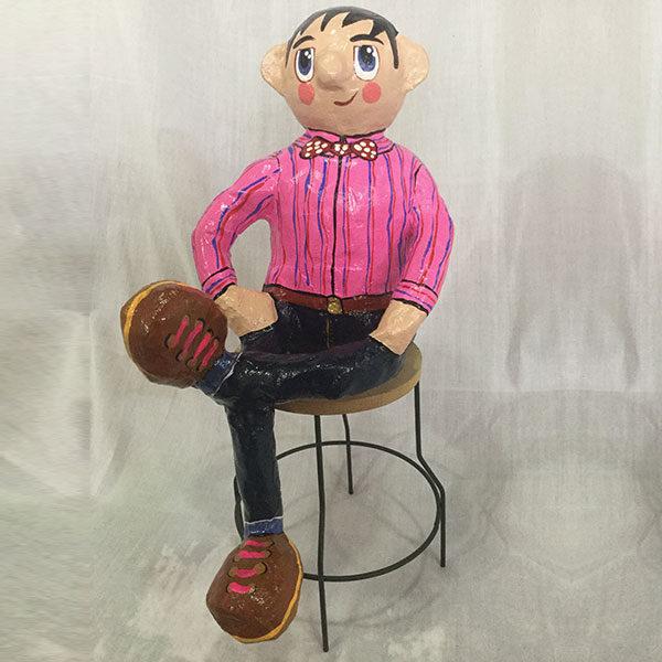 Escultura Gordos CEO, Comunicador, Ingeniero