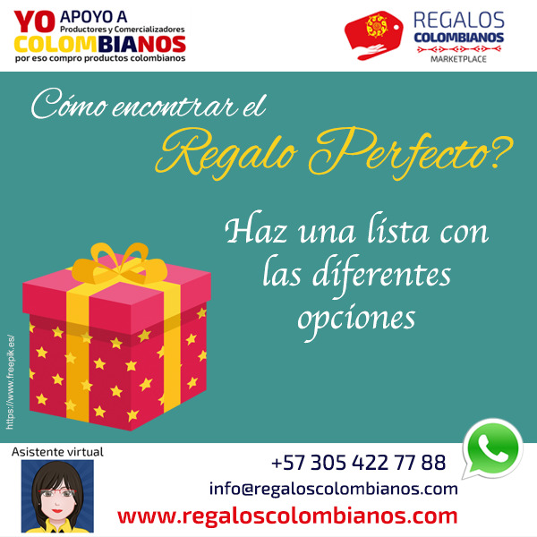 Regalos Colombianos - Regalos perfectos
