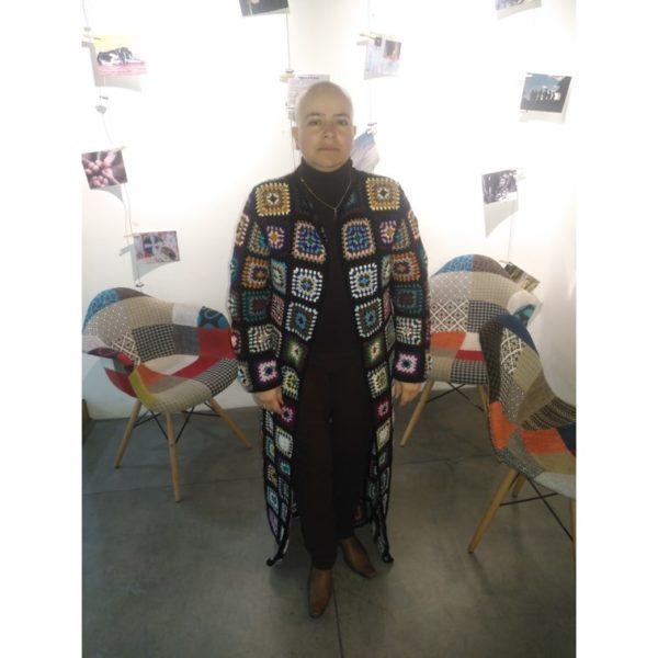 Regalos Colombianos / Isakalú/ Abrigo crochet