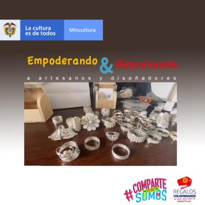 Regalos Colombianos - Empoderando y rescatando a artesanos y diseñadores