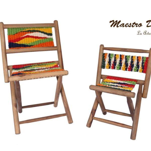 Regalos Colombianos / Maestro Dukon / Silla plegable