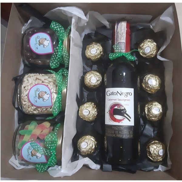 Regalos Colombianos - Vino, Chocolates - Nutrilove