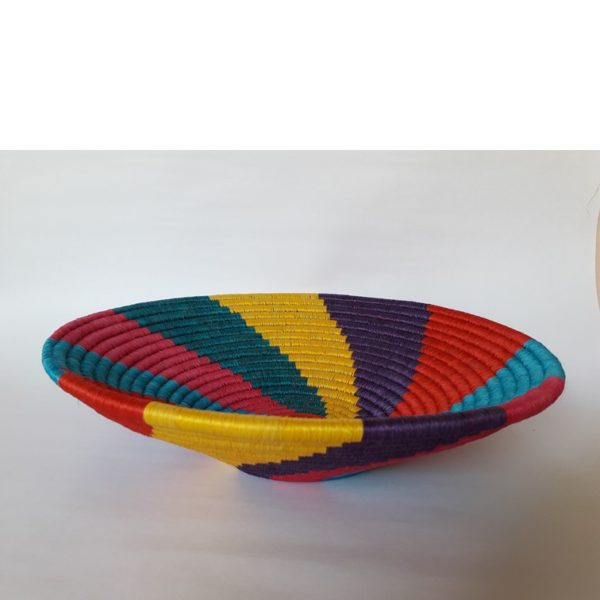 Regalos Colombianos / IArtesanias Frasilgo/ Centro de mesa - Cesteria Rollo - Guacamayas