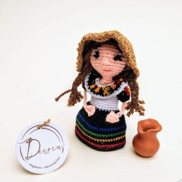 Regalos Colombianos -Colombianita Amigurumi - Decora regalos