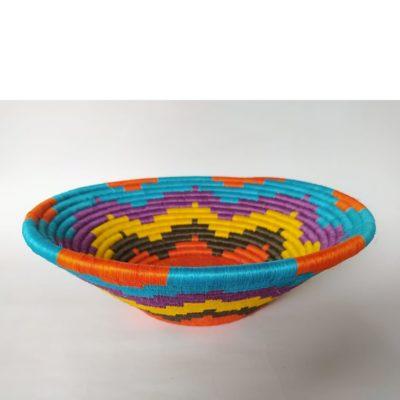 Regalos Colombianos / Centros de mesa/ Artesanias Frasilgo/ Cesteria Rollo - Guacamayas