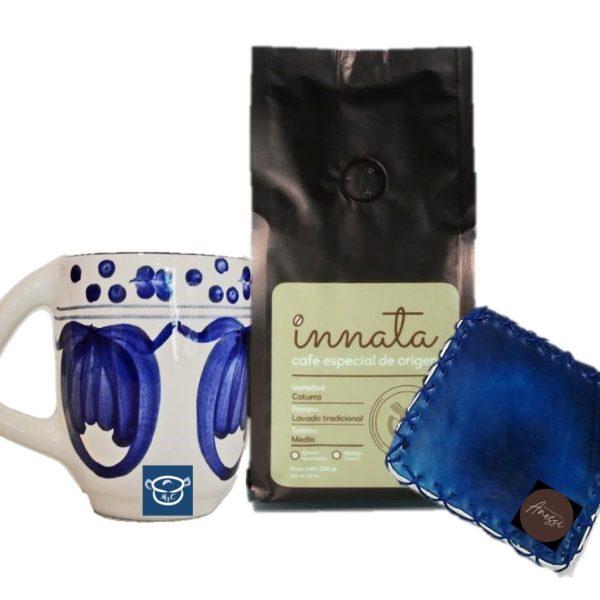 Regalos Colombianos - Kit Prensa café- Innata Café